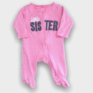 4/$20🥳 Little Sister Polkadot Sleeper